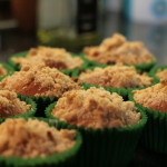 MTT: Autumn Apple Crumble Muffins