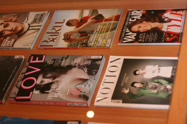 Magazines at Hill House, Norfolk