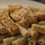 MTT: Creamy Chicken, Thyme & Garlic Pasta