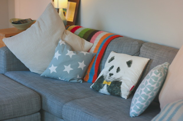 Cushions on my sofa