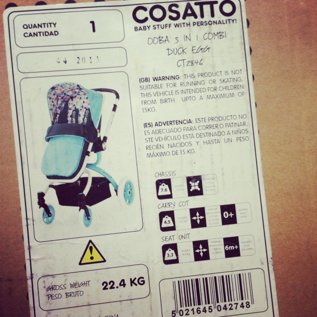 Cosatto Ooba box