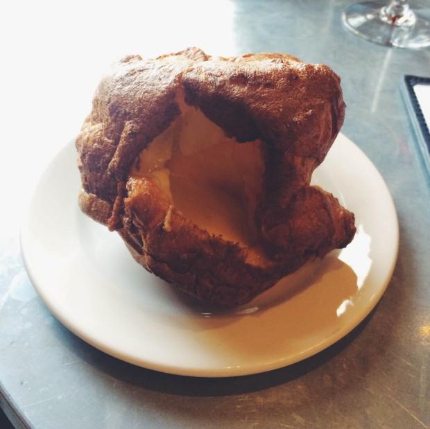 Cheesy Yorkshire Pudding at Gillray's