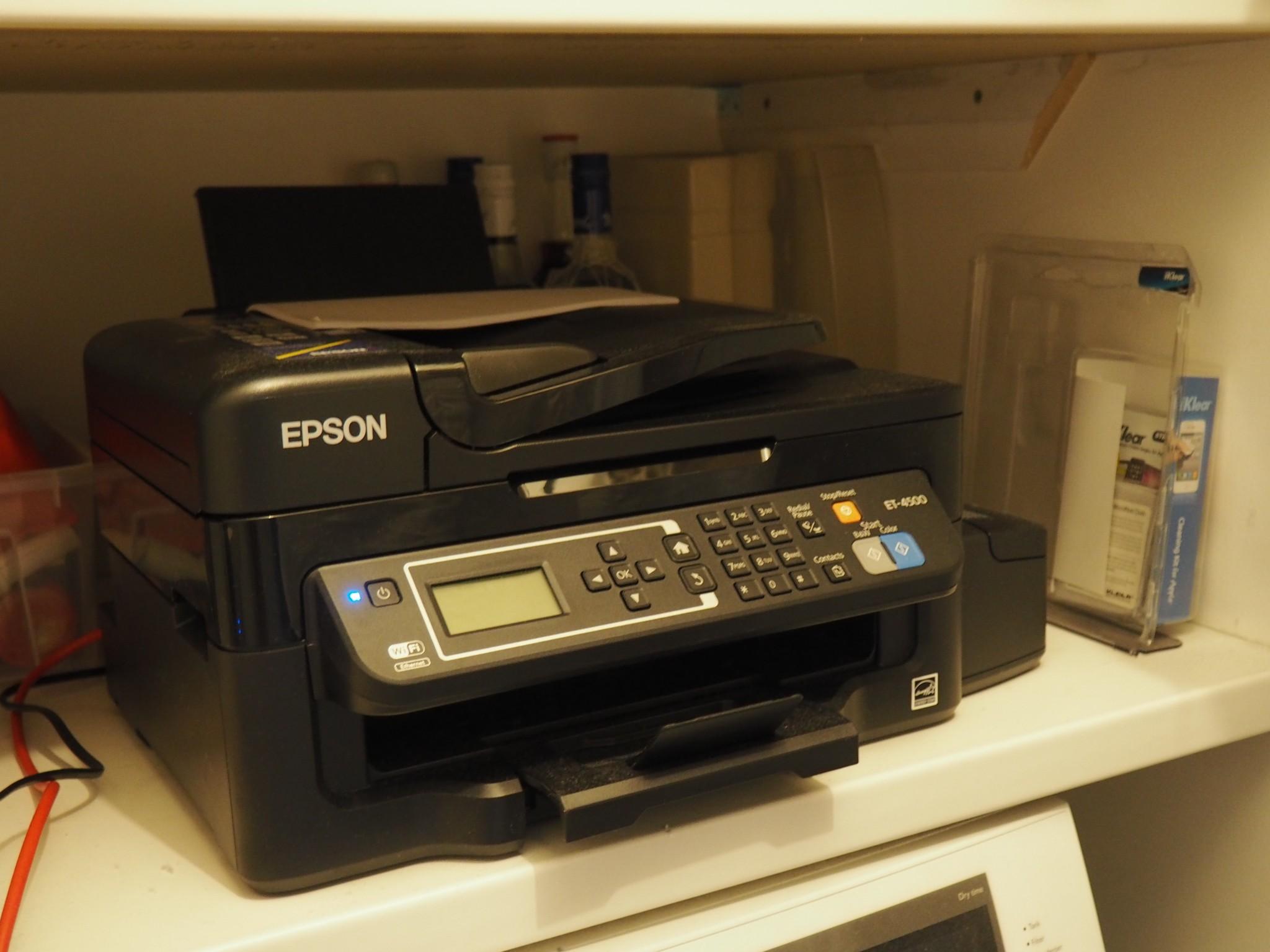 epson ET-4500 review