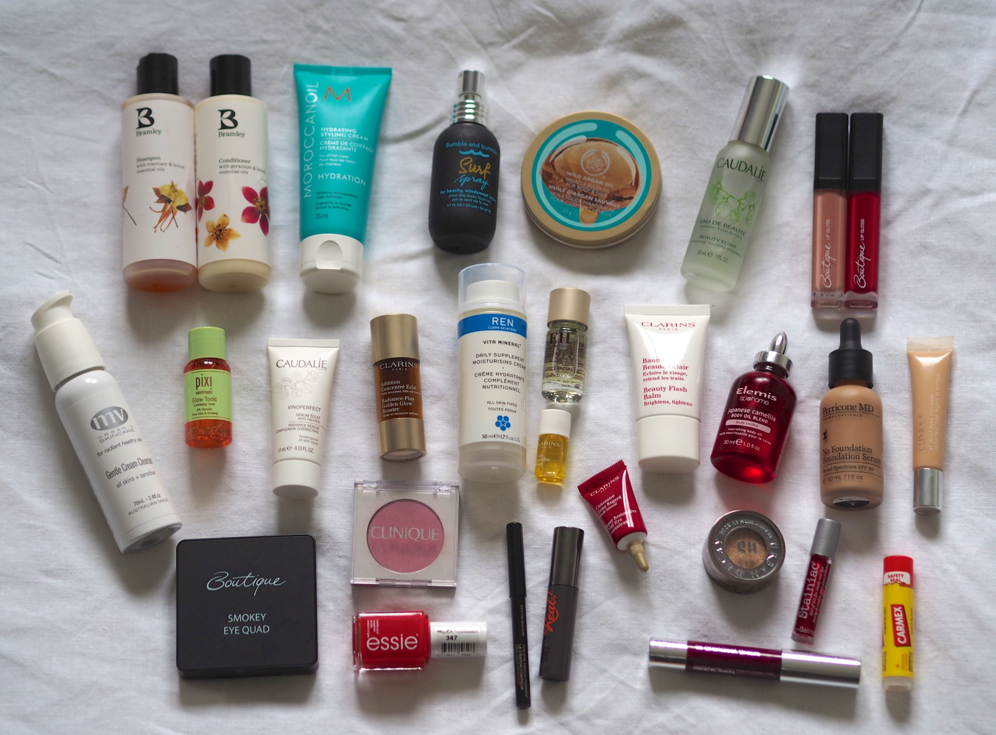 holiday beauty wardrobe