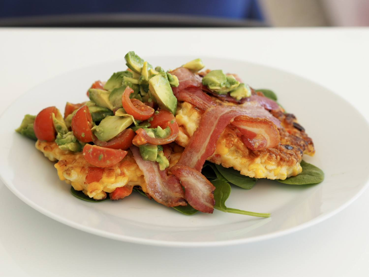 Sweetcorn fritter recipe