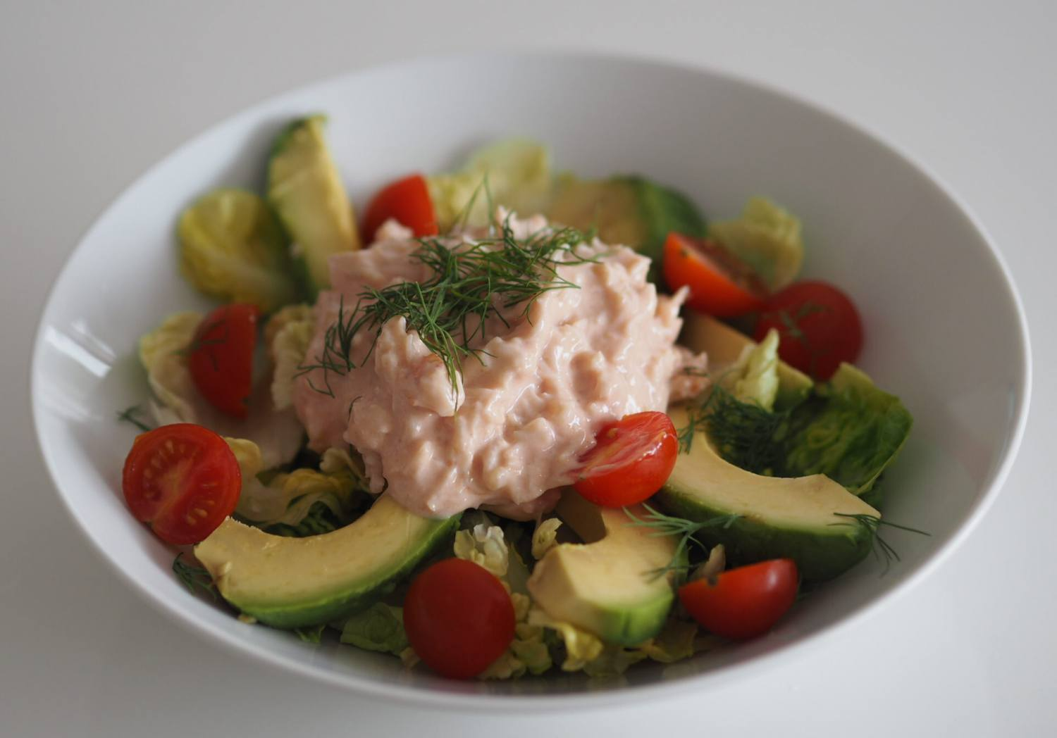 Crab Avocado Salad