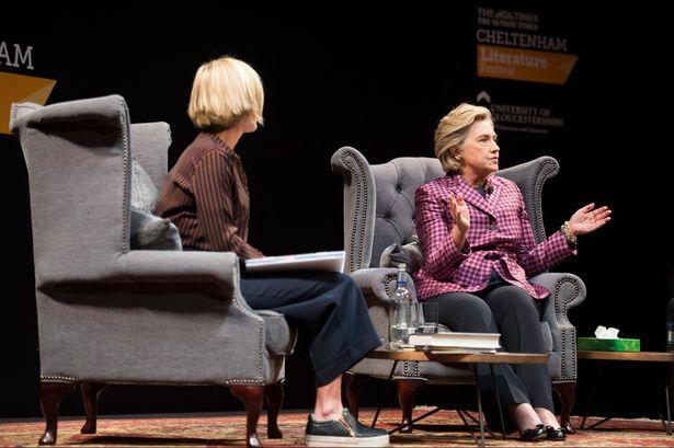 Hillary Clinton Cheltenham Festival